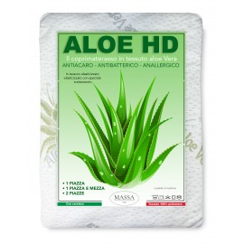 COPRIMATERASSO traversa ALOE VERA HD antiacaro e  anallergico MADE IN italy
