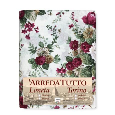 Serviette pour Meubles Grand Foulard Couvre-lit Canapé Tissu LONETA Sanderson Rose