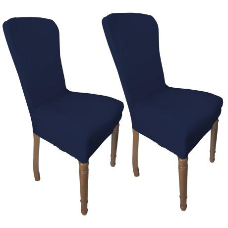 couverture bleue de siège extensible