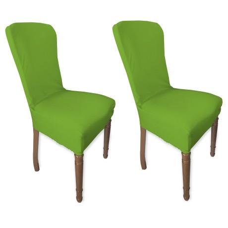 couverture verte de siège extensible