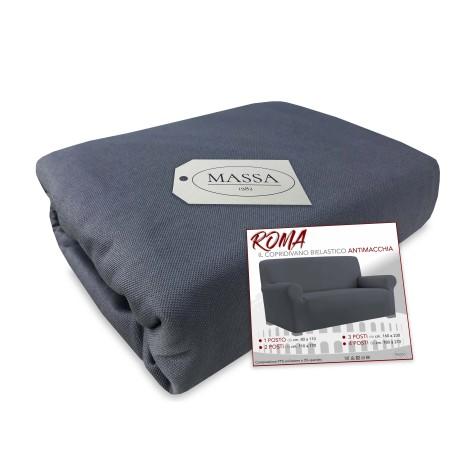 couvercle élastique de sofa gris
