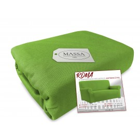 couverture élastique roma canapé vert