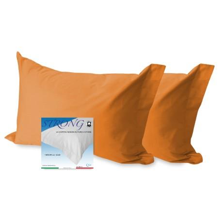 federe tinta unita arancio in cotone
