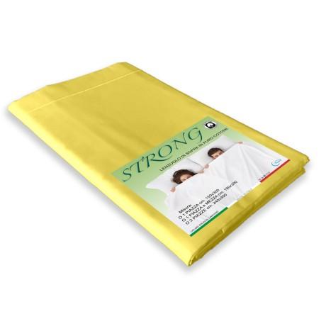 lenzuolo cordonetto di sopra giallo