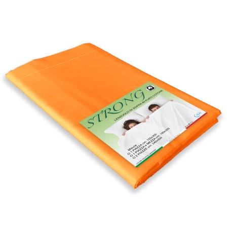 feuille au-dessus du cordon orange en coton pur