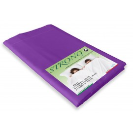 feuille violette en coton pur