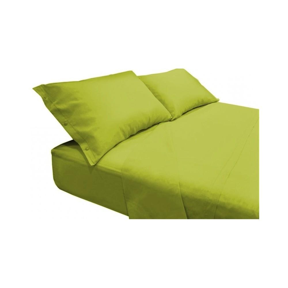 Completo lenzuolo in puro cotone - Tappeti moderni verde acido ...