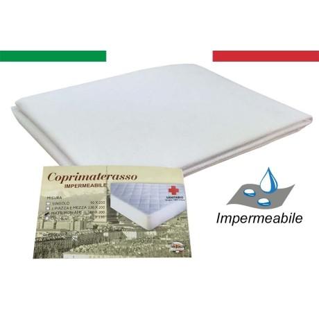 COPRIMATERASSO IMPERMEABILE SANITARIO PVC QUALITÀ EXTRA