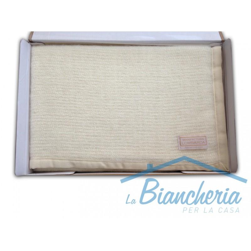 Coperta in lana torcello estiva leggera matrimoniale 2 - La casa italiana biancheria ...