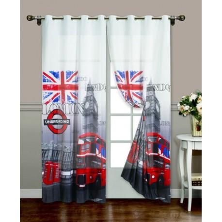 Tenda londra inglese confezionata la biancheria per la casa - Tende camera ragazzo ...