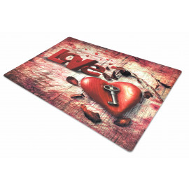 TAPPETO ZERBINO DIGITAL FRIENDS CM.40X60 KEY LOVE