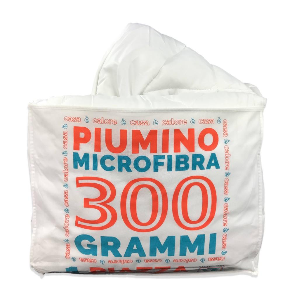 the latest 6fb46 6e042 PIUMINO SINTETICO BIANCO INVERNALE 300 gr./mq. Misura 1 PIAZZA