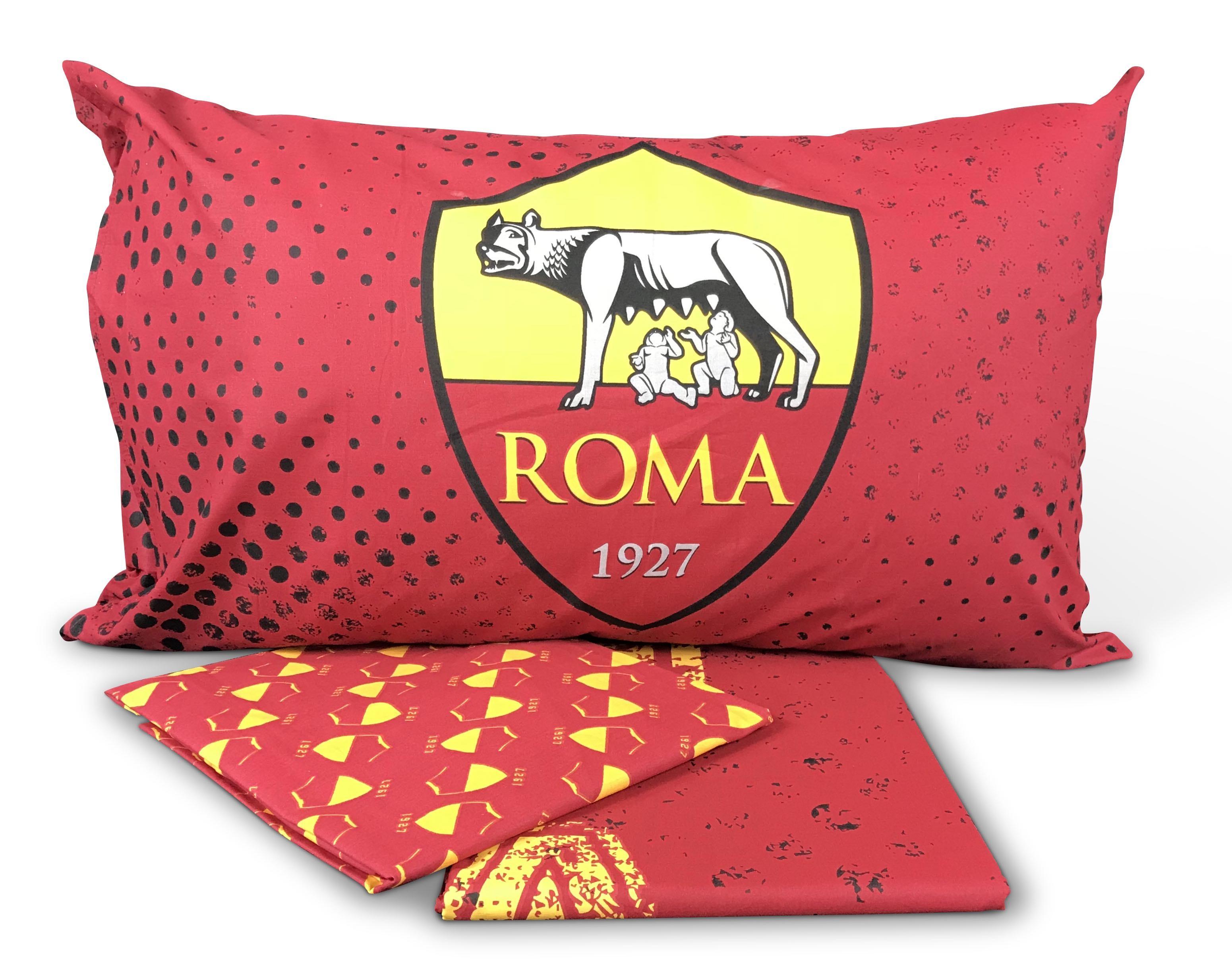 Copripiumino As Roma.Copripiumino Roma Calcio 1 Piazza Singolo Originale A S Roma