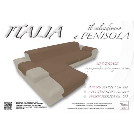 COPRIDIVANO ITALIA IL SALVADIVANO CON PENISOLA TRAPUNTATO TORTORA