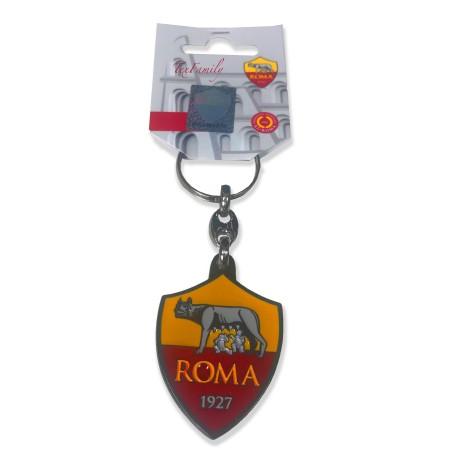 Porte-clés EN MÉTAL ÉMAILLÉ A. S. ROMA