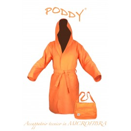 ROBE TECHNIQUE MICROFIBRE ORANGE