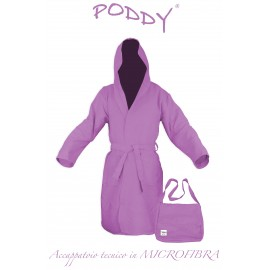 ROBE TECHNIQUE MICROFIBRE LILAS
