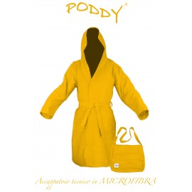 ROBE TECHNIQUE MICROFIBRE JAUNE