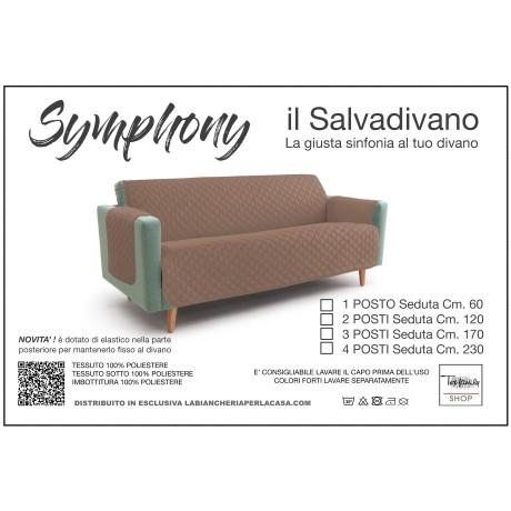 NUOVO COPRIDIVANO TR SALVADIVANO SYMPHONY TRAPUNTATO TORTORA