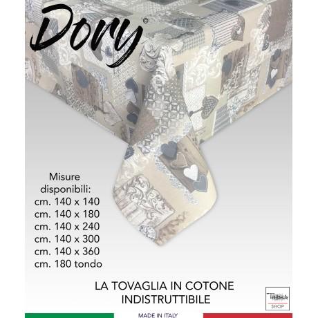 TOVAGLIA DORY TIROLESE CUORE MARGOT BEIGE