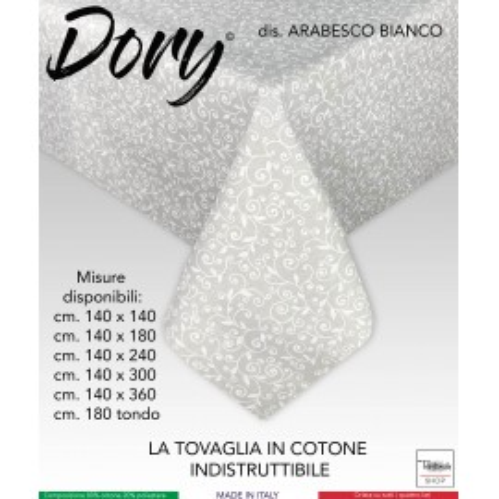 TOVAGLIA DORY ARABESCO BIANCO