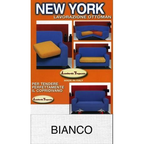 COPRIDIVANO NEW YORK BLANC fabriqué en Italie