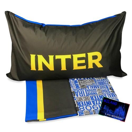 COMPLETO LENZUOLO SINGOLO F.C. INTER INTERNAZIONALE ORIGINALE