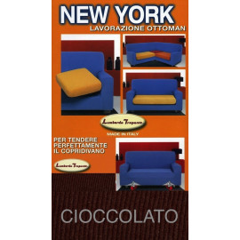 COPRIDIVANO NEW YORK CIOCCOLATO made in Italy