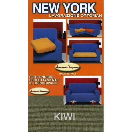 COPRIDIVANO NEW YORK KIWI VERT fabriqué en Italie