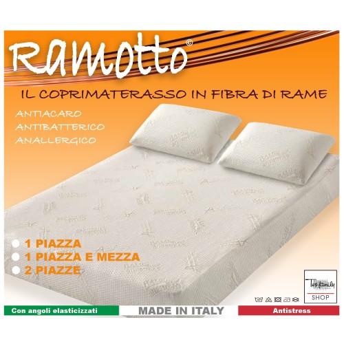 COPRIMATERASSO RAMOTTO © IN FIBRA DI RAME