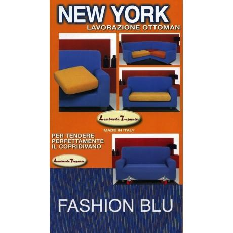COPRIDIVANO NEW YORK FASCHION BLU made in Italy