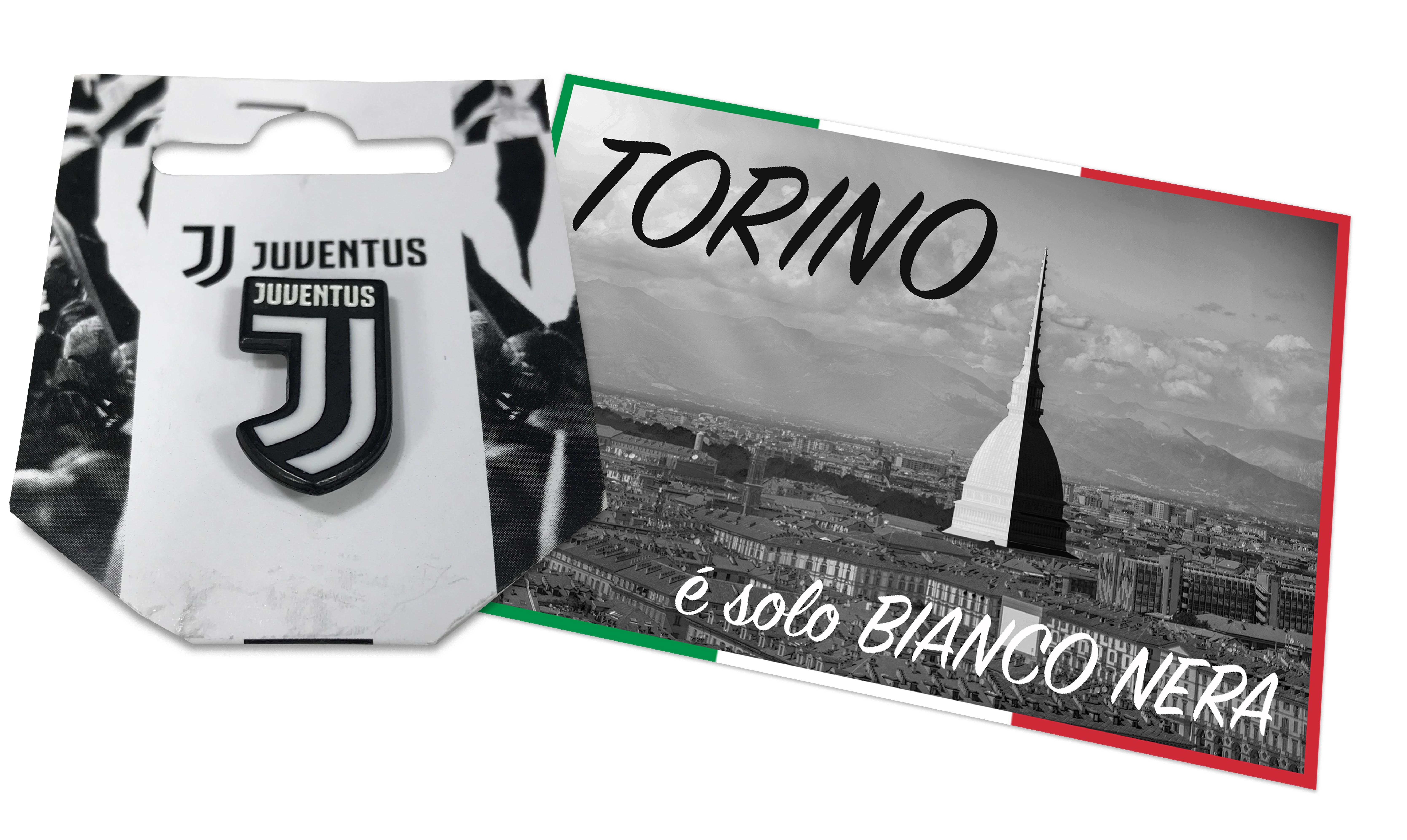 Distintivo Ufficiale Juventus In Metallo