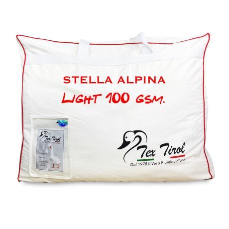 PIUMINO TEX TIROL © STELLA ALPINA LIGHT  100 % PIUMINO OCA LEGGERO ESTIVO MATRIMONIALE