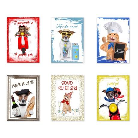 copy of Strofinaccio CALENDARIO 2020 Natale in puro cotone stampato in ALTA definizione misura MAXI