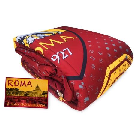 TRAPUNTA SINGOLA 1 piazza AS ROMA invernale ROMA e cartolina ROMA È SOLO