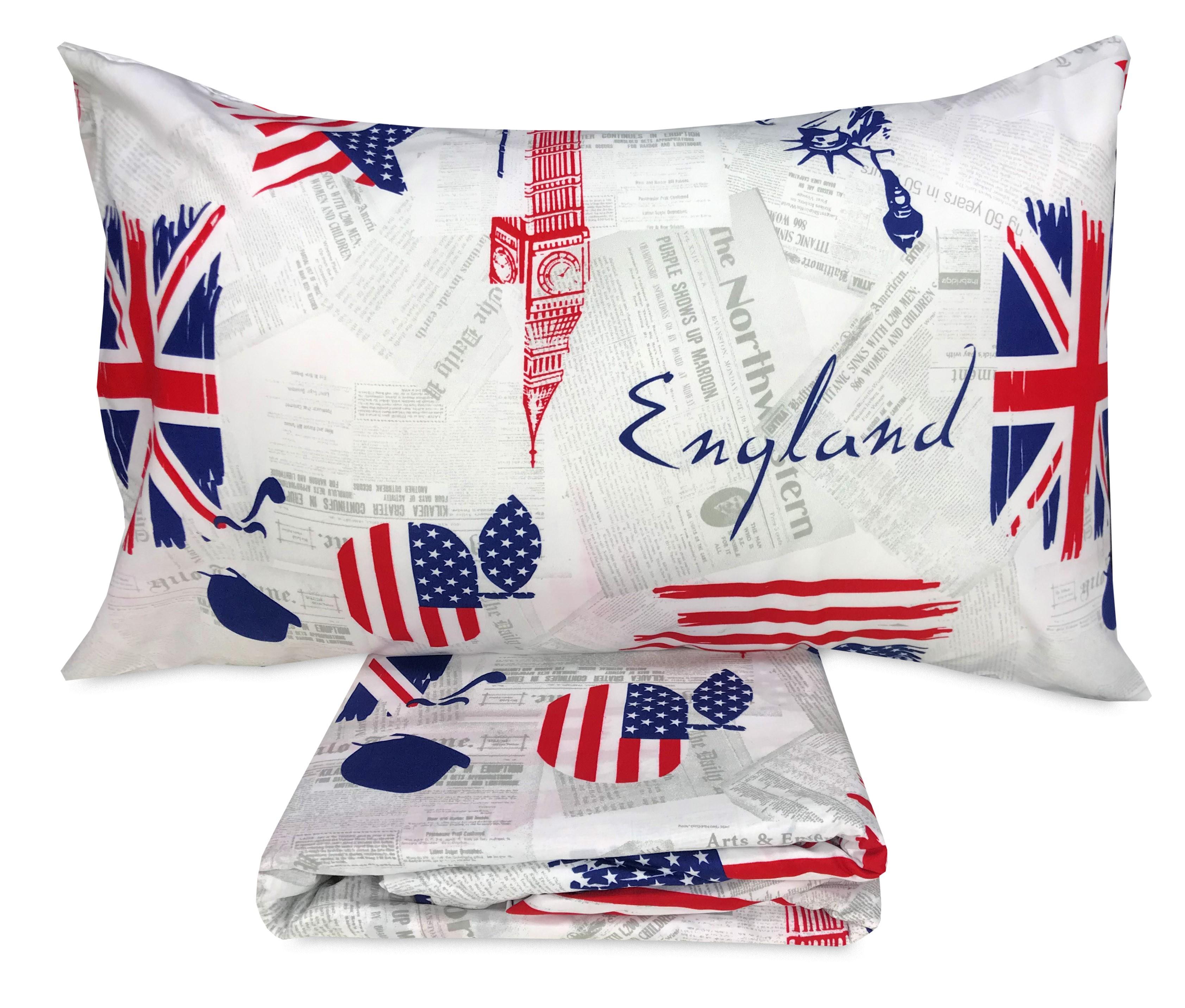 Copripiumino Singolo Bandiera Inglese.Copripiumino Bandiera Inglese E Americana Apple And Sherlock