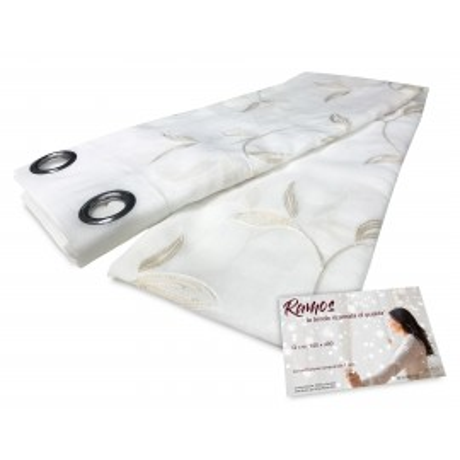 Rideau Ramos beige 140 x 280 cm emballé